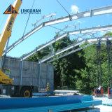 Gruppo di lavoro dell'acciaio della tettoia del magazzino della struttura del metallo