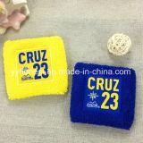 La promoción Deportes muñequeras de algodón de Rizo Cinta absorbente personalizado
