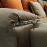 Modernes Entwurfs-Ecken-Möbel-Gewebe-Sofa für Haus