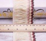 6 cm de alta qualidade de franja de Rosca Dupla rendas para decoração