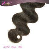 Uma extensão brasileira do cabelo do Virgin não processado cheio fornecedor da onda do corpo de Cutilce