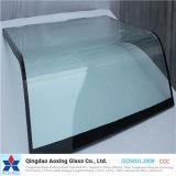 vidrio impreso seda de 5-6m m Toughend para los vehículos