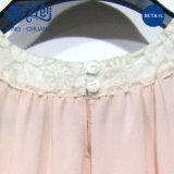 Signora chiffona Causal Dress dell'ultimo di disegno delle signore collare moderno del merletto