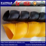 Bon butoir spiralé flexible de résistance à la traction pour le boyau hydraulique