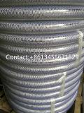 PVC 폴리에스테르섬유와 철강선 강화된 호스 관