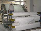 Tissu de gris de 100% pour la feuille de literie