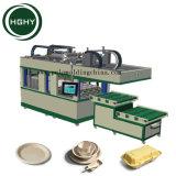 Hghy umweltfreundliches Papierwegwerftafelgeschirr, Maschine produzierend