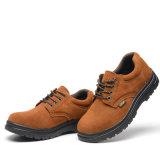 Le milieu de la Coupe Nuburk Chaussures de sécurité en cuir véritable