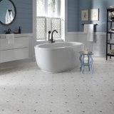 pavimentazione di superficie di ceramica chiara delle mattonelle del vinile di 5.5mm per la cucina