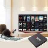 I Box caixa de TV com Amlogic Android S905X 1GB/8GB de RAM ROM, WiFi com suporte HD 1080p, 4K, CAIXA DE TV inteligente