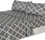 Hotel di vendita caldo Qualtiy del Amazon lenzuola delle 4 parti impostate