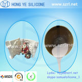 MSDS/GV RTV Mould Making Silicone Rubber pour Colored Crafts Products