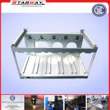 電子ABSプラスチック表示電気金属機構(合金、アルミニウム、立場、キャビネット、ボックス)を取付けるステンレス鋼を広告するTVのコンピュータ