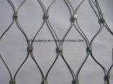Rete metallica della corda dell'acciaio inossidabile per il giardino zoologico