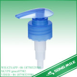 28/410 PP bleu Pompe à lotion de haute qualité pour les soins personnels