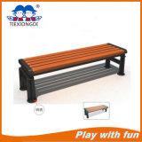 Nuevo diseño de madera y banco de parque de metal