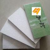 Grüne rückseitige Mineralfaser-akustische Decken-Fliese rechts-80-99 (595/603/604)