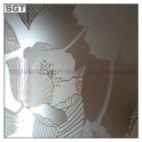 4mm-19mm Patterned Acid Etched Glass mit CER