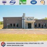 Construction de bâtiments préfabriquée modulaire de structure métallique avec la bonne décoration