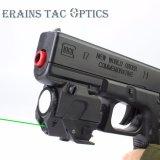 2018 Groene Laser Onder het vriespunt van de Collimator van het Kanon van het Pistool Glock van Jaar de Hete Verkopende Directe Navulbare Tactische Compacte 520nm met 220 LEIDEN van Lumen Flitslicht voor de Jacht
