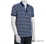 Рубашки пола Lacost людей Pique хлопка сота людей