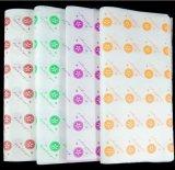 티슈 페이퍼를 감싸는 주문을 받아서 만들어진 다채로운 디자인