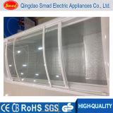 Congelatore superiore di vetro della cassa del portello del grande surgelatore commerciale di capienza