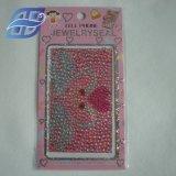 Venda por grosso de bijutaria autocolantes do telefone celular para a decoração do Telefone Celular