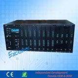 Hybrid PBX 16 Co Linha até 128 Extensões Sistema Telefônico com Software de Gerenciamento de PC para Business Hotel