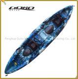 Más allá de la Tandem Sit on Top Kayak Pesca LLDPE