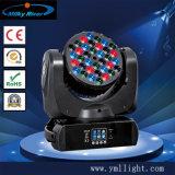 Lumière principale mobile de faisceau du CREE 36*3W RGBW DEL