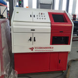Metal do aço inoxidável da tela do CNC que processa o equipamento da estaca