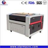 木製のアクリルMDFのペーパーのための星CNCの二酸化炭素CNCレーザーの彫版の打抜き機