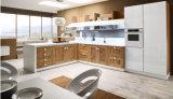 Furnierholz-Europa-moderner Küche-Schrank (PR-K2018)