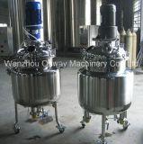 Pl Revestimento de aço inoxidável Emulsificação Mezcladora de tanque Máquina de mistura de óleo Misturador Solução de açúcar Máquina de mistura de tinta de tinta