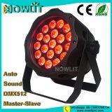 20X15W LED impermeable Rgbwauv Luz PAR