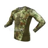 Les sous-vêtements thermiques tactiques de Mens adaptent modèle de sous-vêtements d'Esdy au nouveau