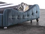 A05 이탈리아 디자인 Bed 호화스러운 직물 임금
