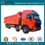 Sinotruk HOWO-A7 420HP 8X4 30m3のダンプトラック