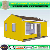 Windundurchlässiges leistungsfähiges Fertighaus-/Prebricated modulares Gebäude-Behälter-Haus