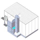De infrarode het Verwarmen van de Lamp het Schilderen van de Cabine van de Nevel Zaal van het Baksel voor Verkoop