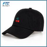 Изготовленный на заказ шлем папаа хлопка бейсбольной кепки логоса вышивки джинсовой ткани