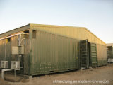 20ft Flat Pack Container Houseの居間、Office、Easy Assembly
