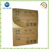 Collants estampés personnalisables de papier d'emballage (JP-s058)