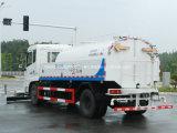 Dongfeng 4X2 швабры дорожного движения погрузчика с помощью мойки высокого давления