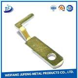 Lamiera sottile su ordinazione d'acciaio di precisione che timbra le parti con la placcatura elettrolitica