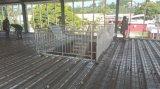 2つの床の鉄骨構造のオフィス