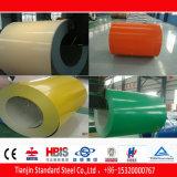 Bobina de aço PPGI RAL9001 Ral 9002 RAL 9003
