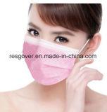 Non tissés jetables Masque chirurgical 3 plis avec contour ou des liens