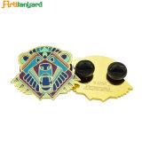 Enamel Badges apportées à l'ordre avec fermoir papillon